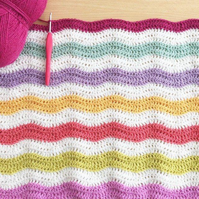 forever_autumn crochet ripple
