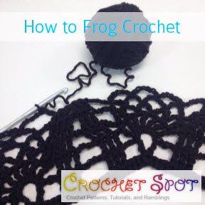 frog crochet