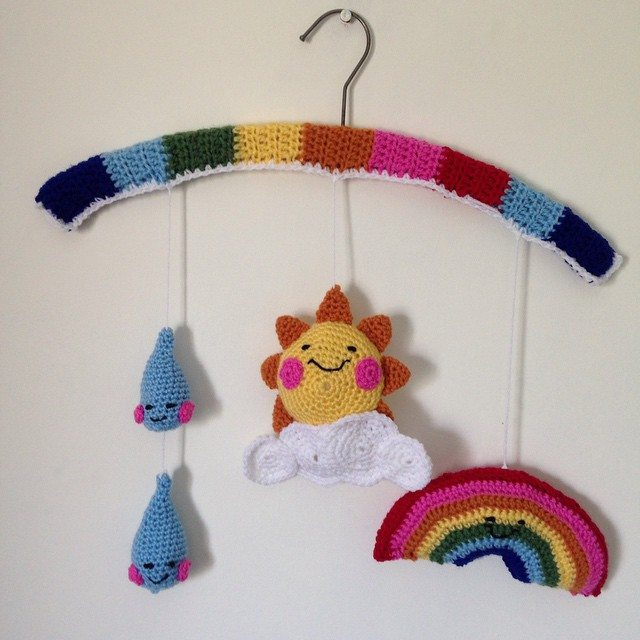 gooseberryfool crochet rainbow