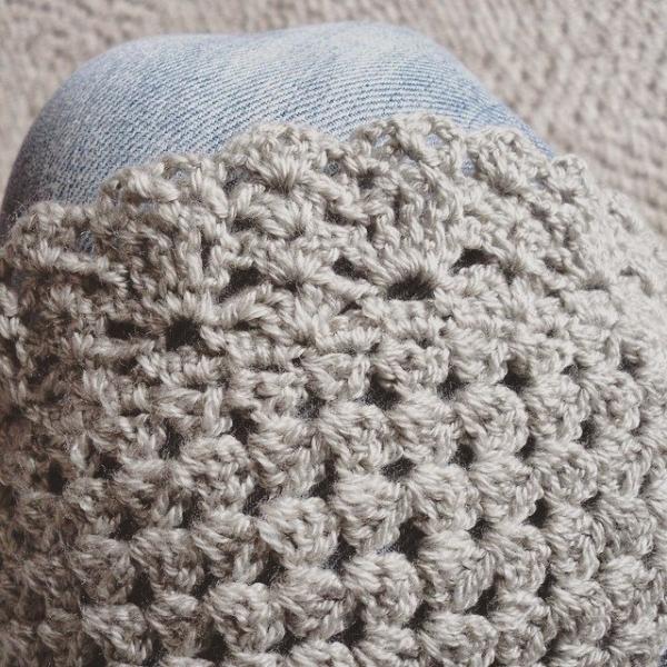 hayeleyarious crochet shawl detail