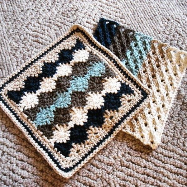hayleyarious crochet cotton dishcloth