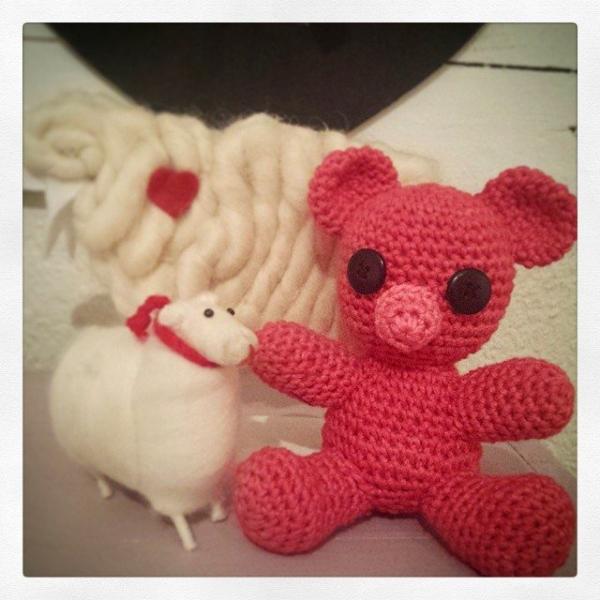 hookybren crochet teddy bear