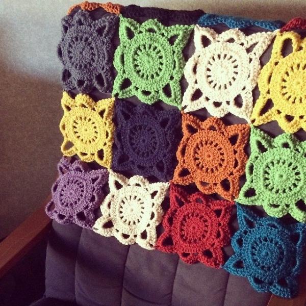 hopeformonsters crochet squares