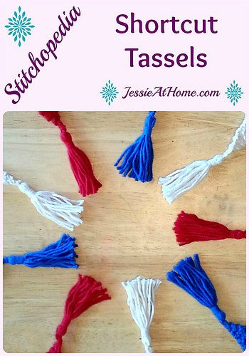 how to make yarn tassels for knit or crochet