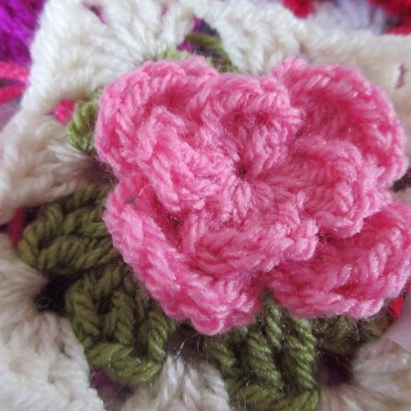 inspiringcrochet crochet flower