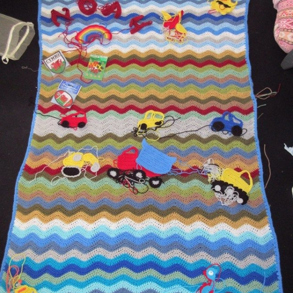inspiringcrochet crochet play blanket