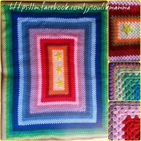 jysoulikmamma_brilliantmommy crochet colorful square blanket