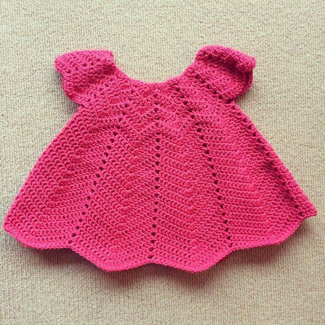 knitpurlhook crochet dress