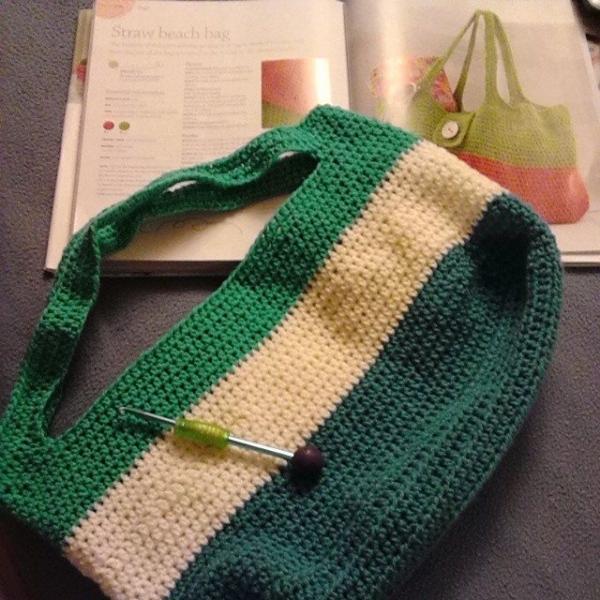 krystlewvscrochet crochet beach bag