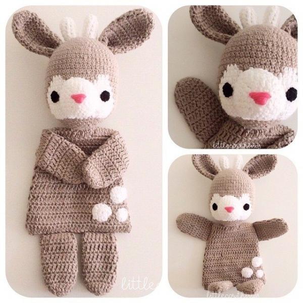 littlecosythings crochet deer