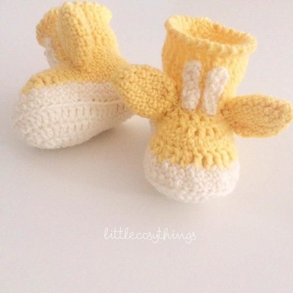 littlecosythings crochet giraffe booties