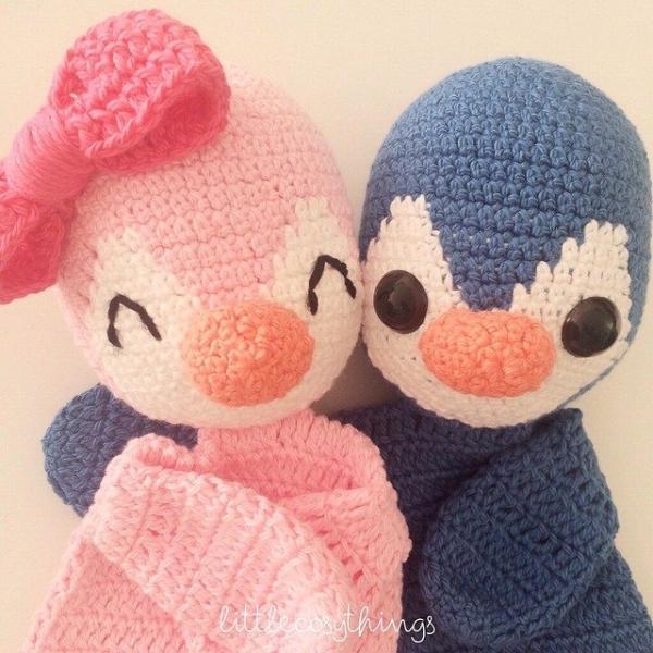 littlecosythings crochet penguins