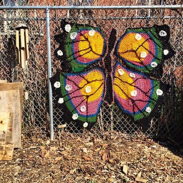 london kaye crochet butterfly