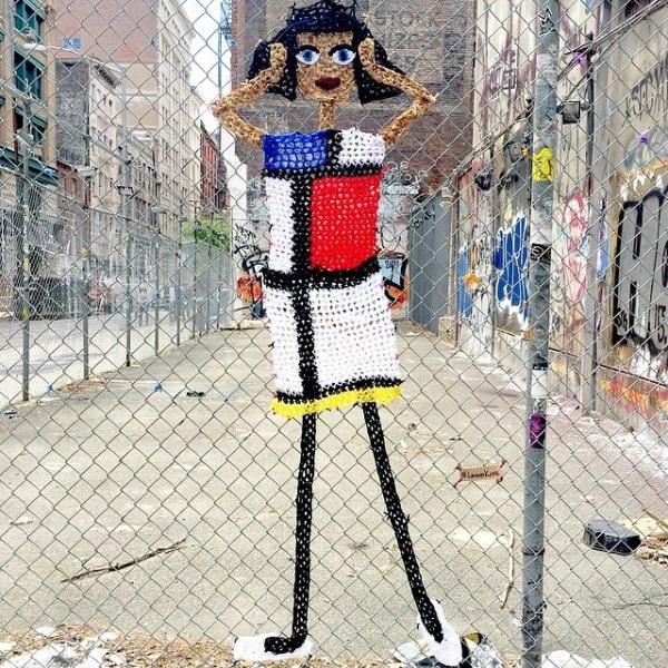 london laye crochet mondrian dress yarnbomb