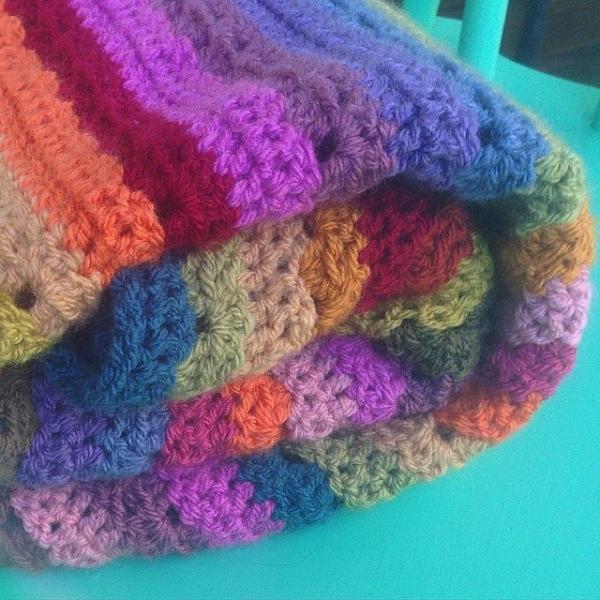 loopandlove crochet blanket