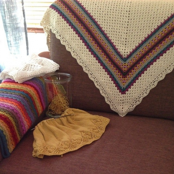 loopandlove crochet shawl