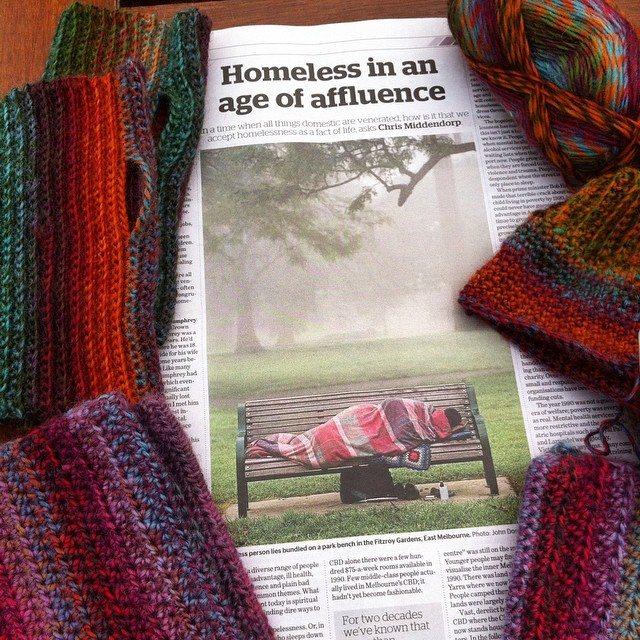 lyndapc crochet for homeless