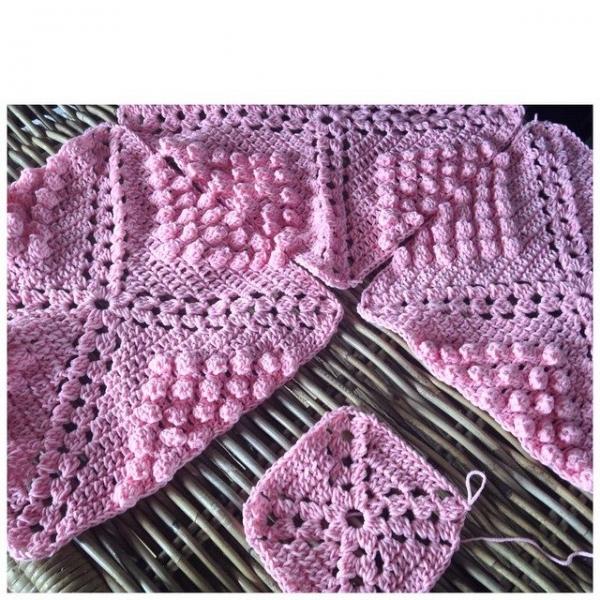 marretjeroos crochet baby blanket