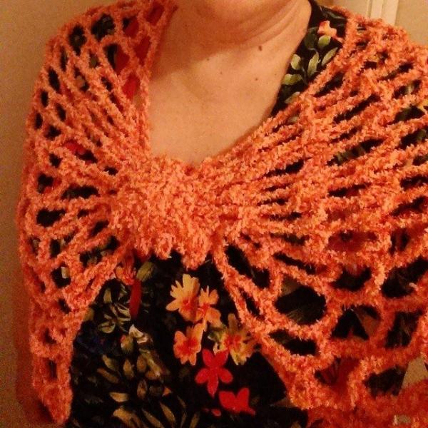 mlissabethgr crochet wrap