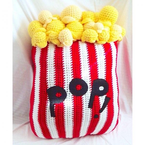 oliviartcreations crochet popcorn
