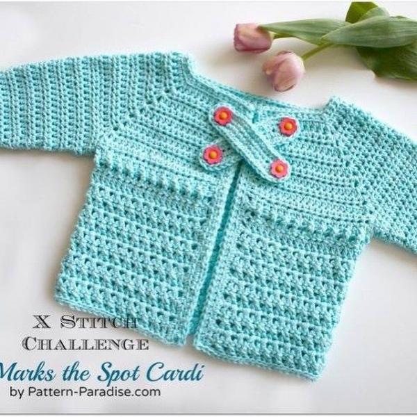patternparadise crochet cardi pattern
