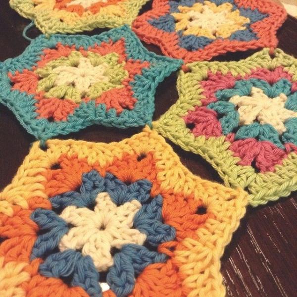 patternpiper crochet stars