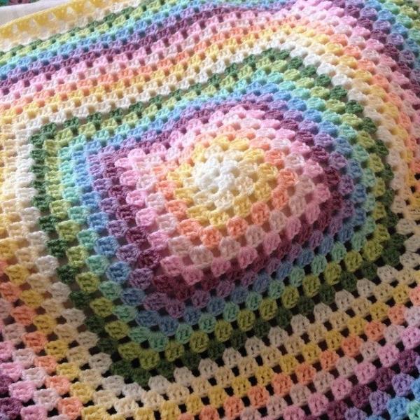 peeka_bo_crochet crochet granny blanket