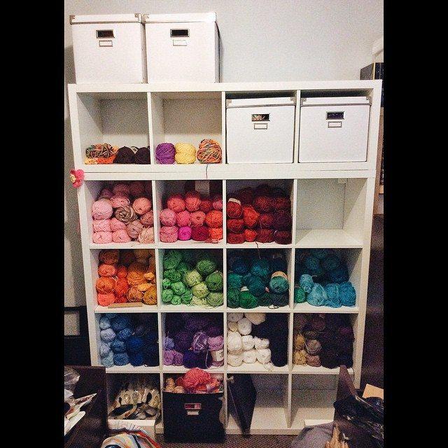 queen_babs yarn storage