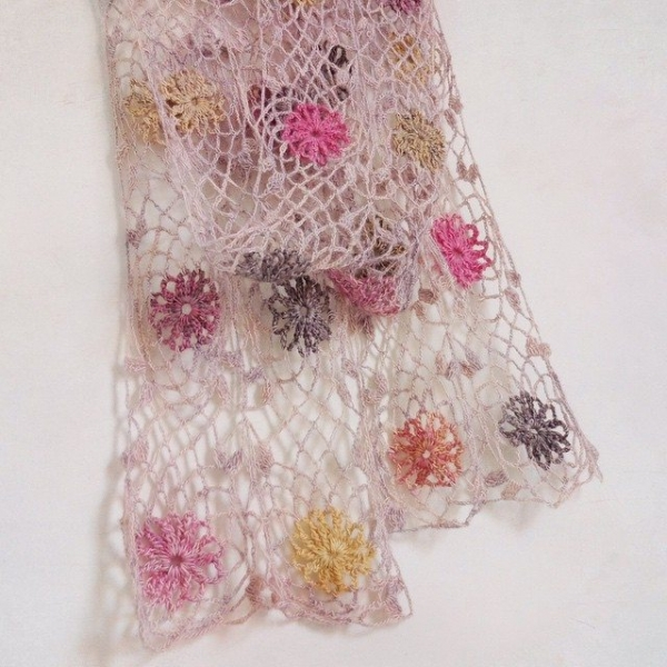 rawrustic crochet scarf