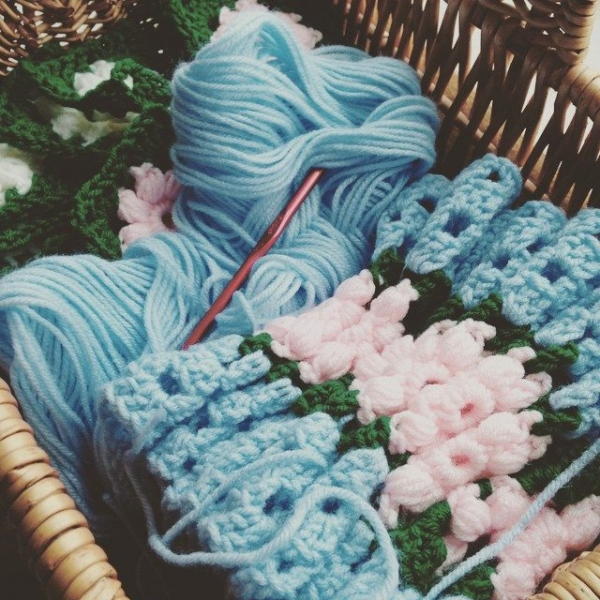 redrocker9 crocheting