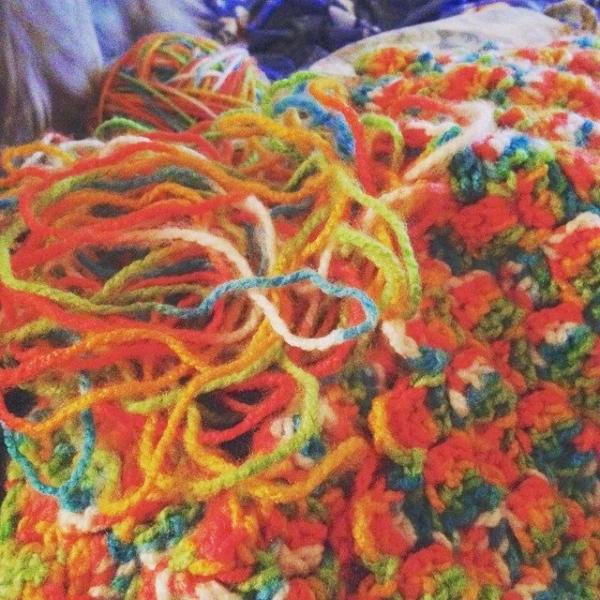 redrocker9 frogging crochet