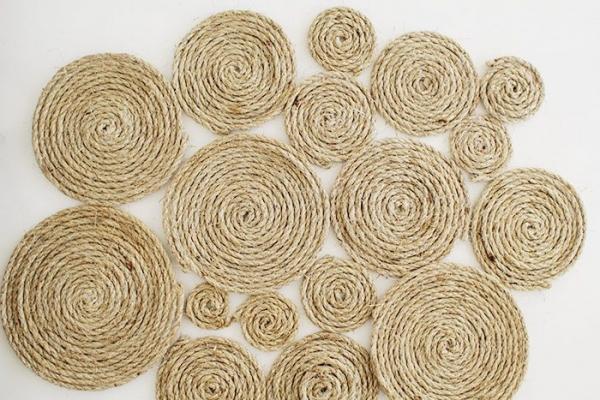 rope mat diy