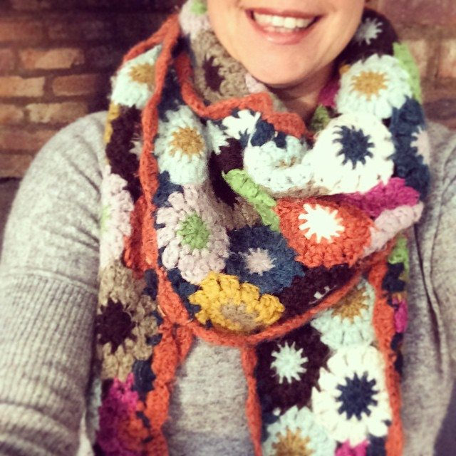 stelcrochet crochet scarf