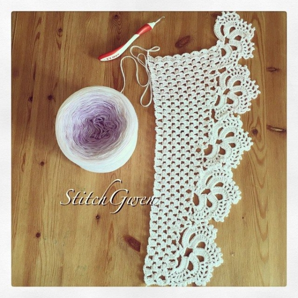 stitchgwen crochet shawl