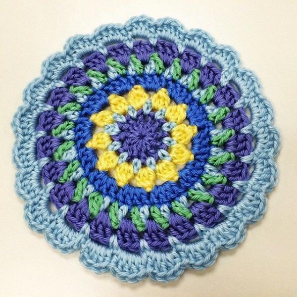 susanobryant crochet mandala