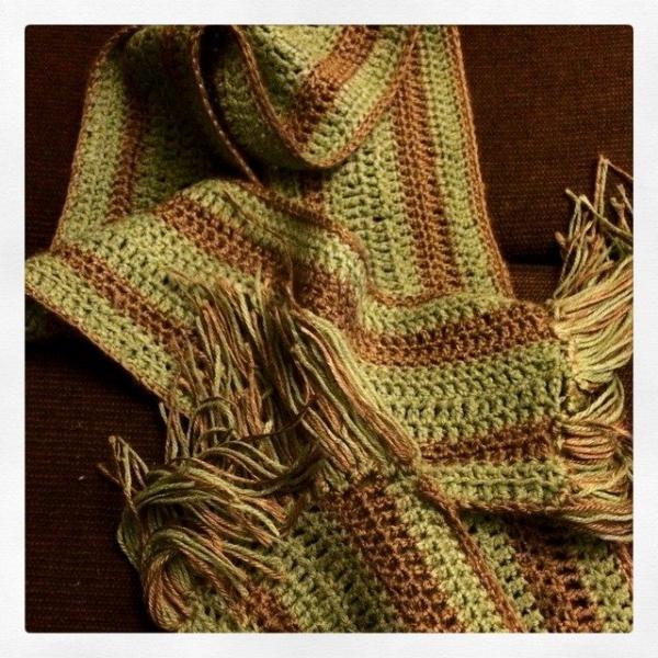suzanne2017 crochet scarf