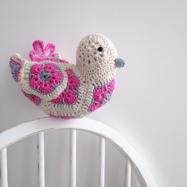 sweet_sharna crochet bird