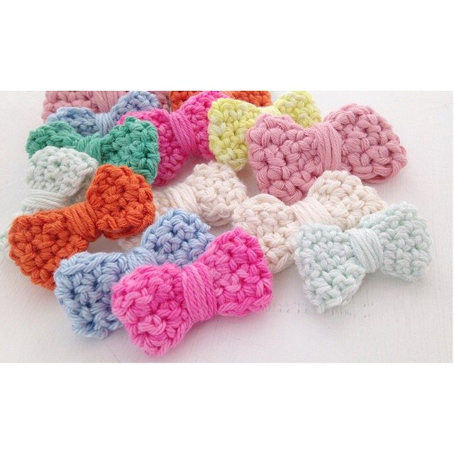 sweet_sharna crochet bow