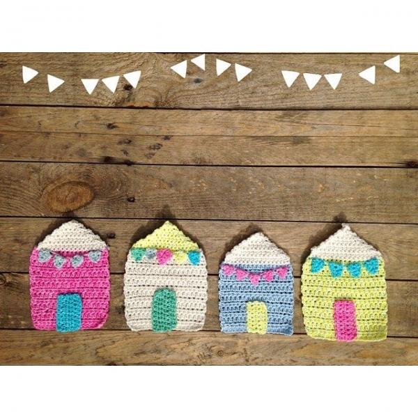 sweet_sharna crochet houses