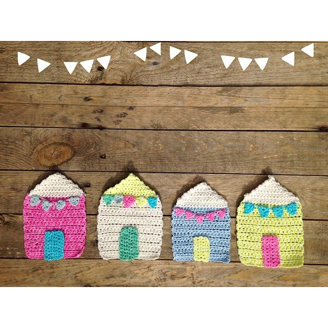 sweet_sharna crochet houses