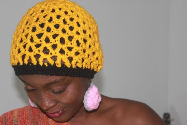 v-stitch crochet hat free pattern