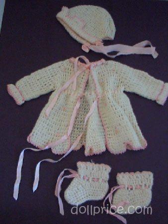 vintage 1940s baby crochet