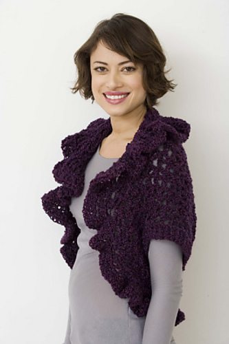 vstitch crochet shrug