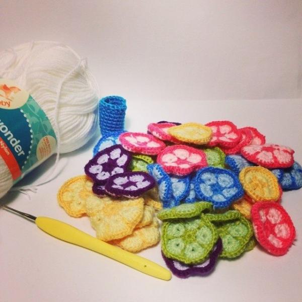 wrappedwithlovebymichelle crochet motifs