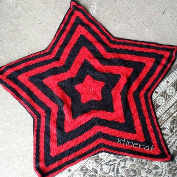 xtinerat crochet star