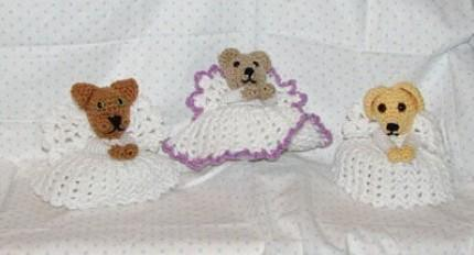 angel bear crochet pattern