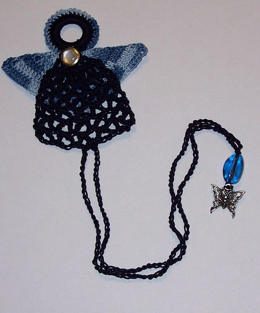 angel bookmark crochet pattern