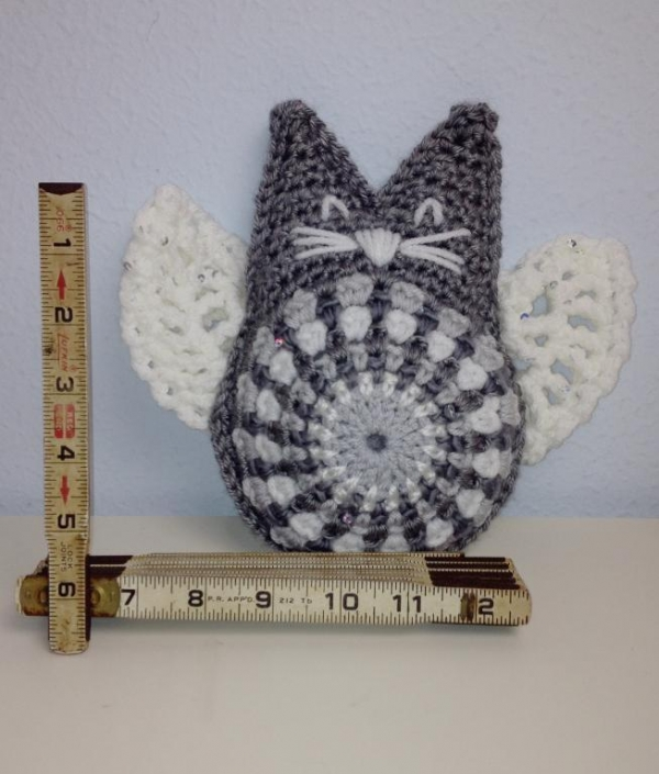 angel kitty crochet pattern