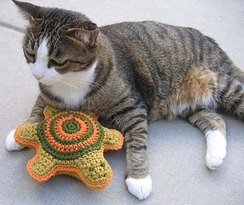 crochet cat toy pattern