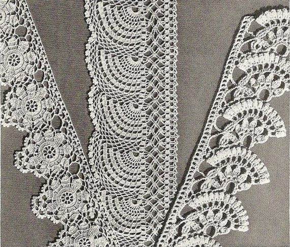 crochet edgings patterns 1941